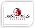 alla moda logo design