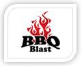 bbq blast logo design