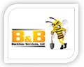 b & b logo design