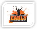 early entertainment logo design