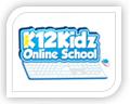 k12 kidz online school logo design