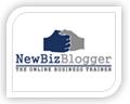 new biz blogger logo design