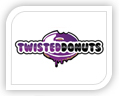twisted donuts logo design