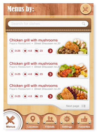Mobile Application Sample 4